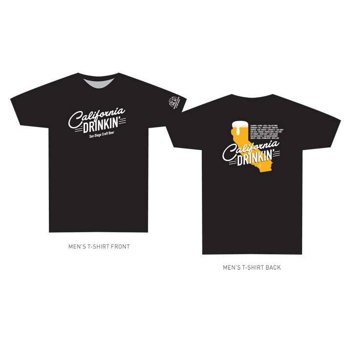 BREW_California Drinkin Shirt Design_HR